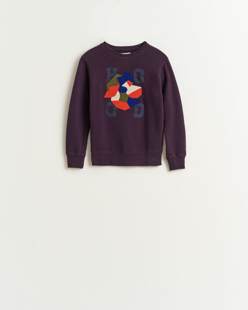 Bellerose sweater VIXX92 PURPLE T1352H