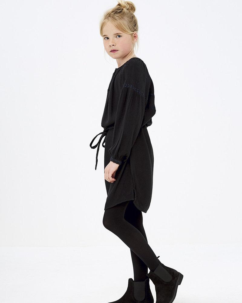 BY-BAR BY-BAR jurk ANNA dress 861 - jet black