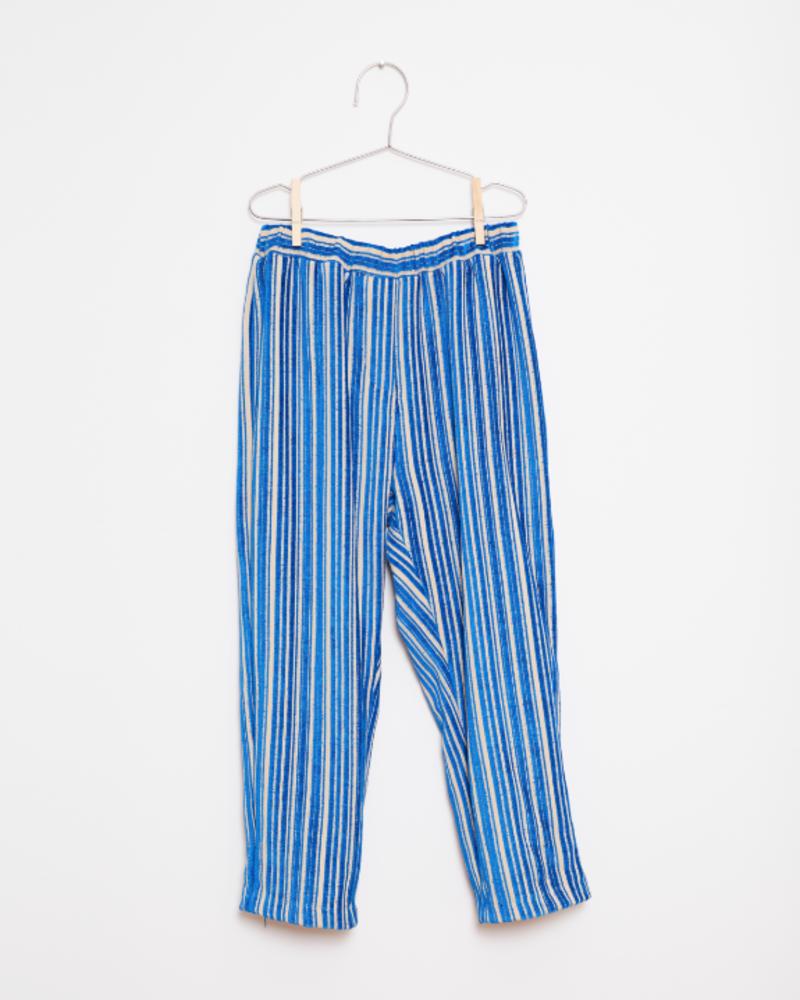 Fish & Kids Stripes pants blue