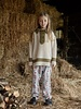 Fish & Kids Knitted jumper beige/green