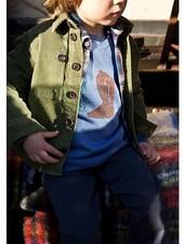 Morley Velours hemd cactus