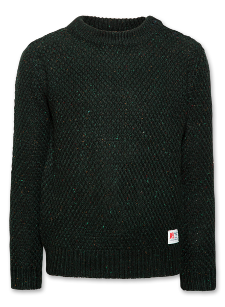 AO76 AO76 sweater c-neck plain dark green