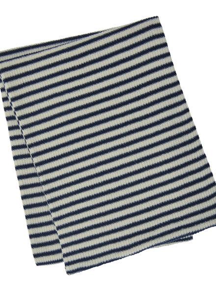 FUB sjaal ecru/navy