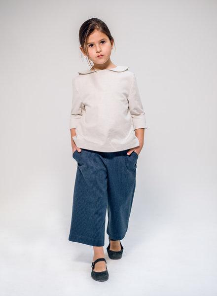 Annice Blauwe culotte met roest