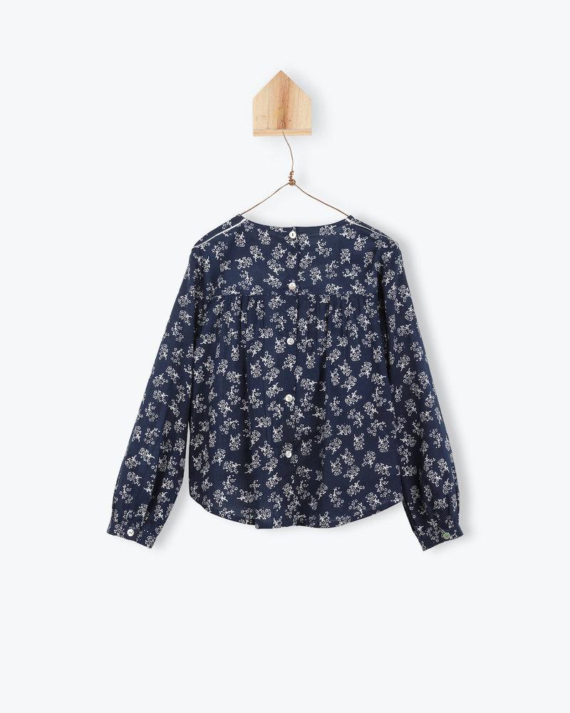 Arsène et les Pipelettes Shirt flowers