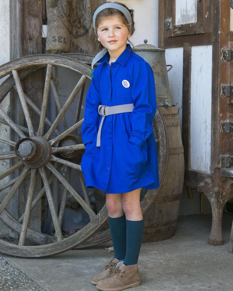 Arsène et les Pipelettes Dress brico cobalt