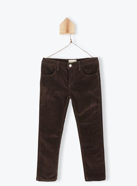 Arsène et les Pipelettes pants velours brown