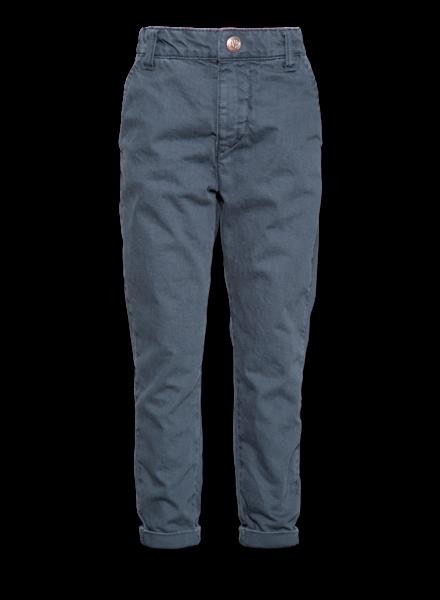 AO76 Grijze broek bill relaxed pants captain blue