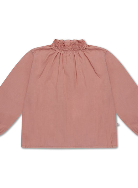 Repose AMS Ruffle shirt peachy