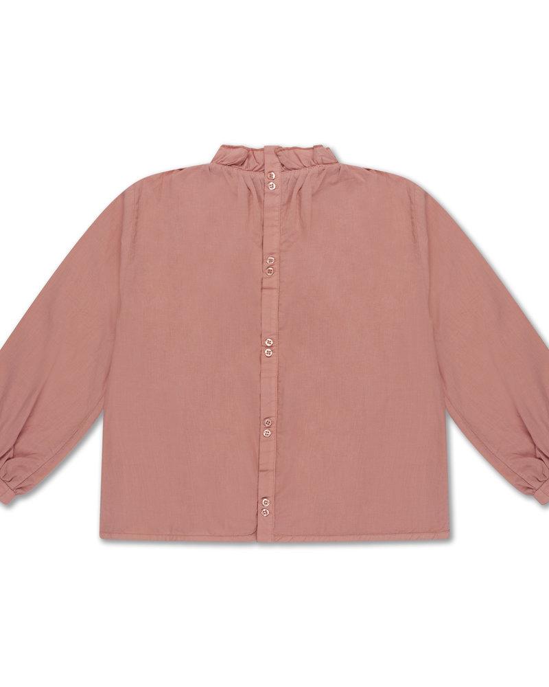 Repose AMS Ruffle blouse peachy