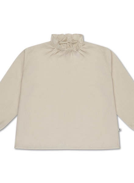 Repose AMS Ruffle blouse sand pearl