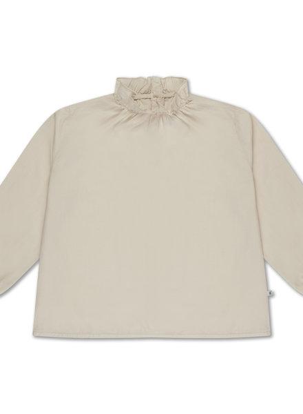 Repose AMS Ruffle shirt sand pearl