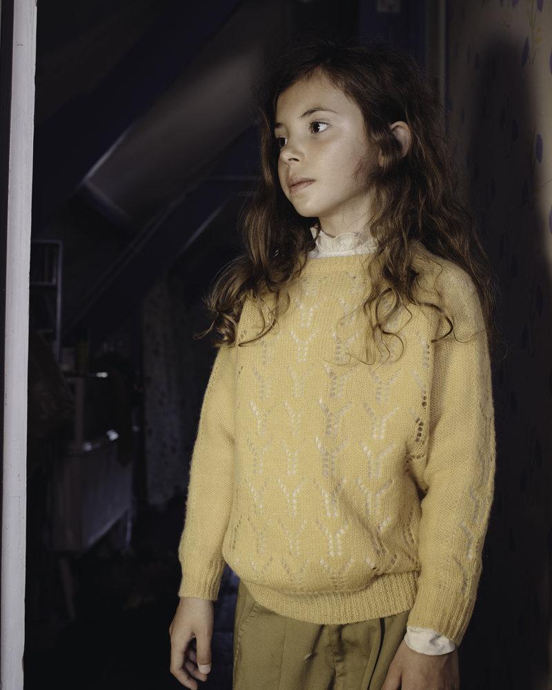 Repose AMS Knit sweater pale yellow