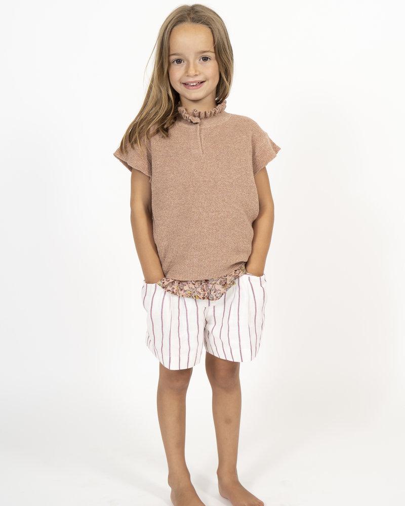 Simple Kids Knit t-shirt ripon glaze powder