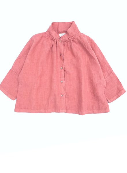 Longlivethequeen Longlivethequeen hemd linen blouse 11014 col. 429 rose