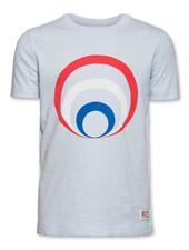 AO76 AO76 T-shirt c-neck circle light blue