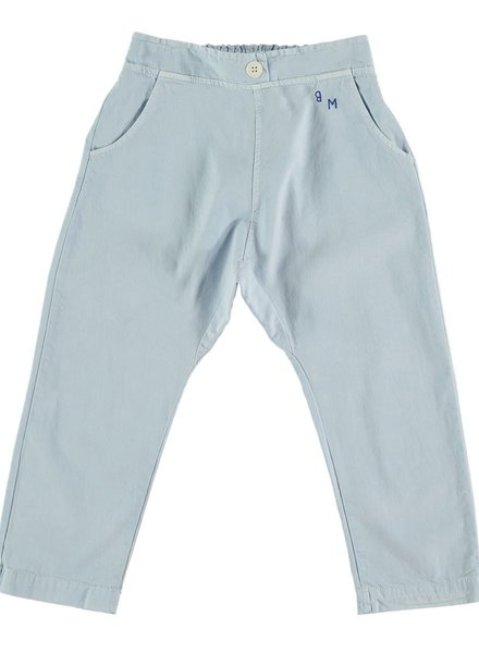 Bonmot Losse broek Baggy Trouser Light Blue