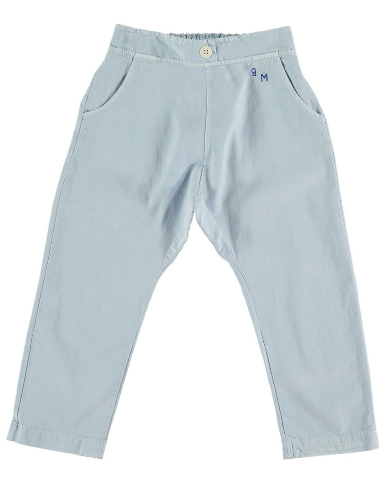Bonmot Bonmot broek Baggy Trouser bm Light Blue