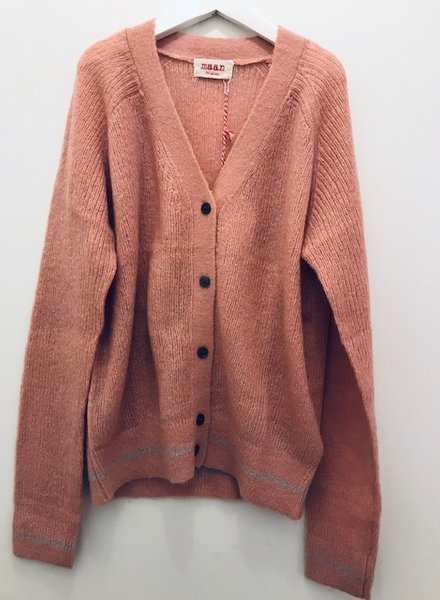 Maan cardigan CHERRY knitted cardigan Tricot rose