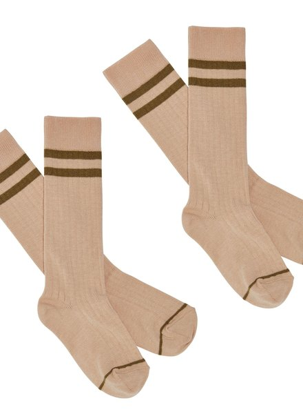 FUB FUB kousen Knee Stockings rose