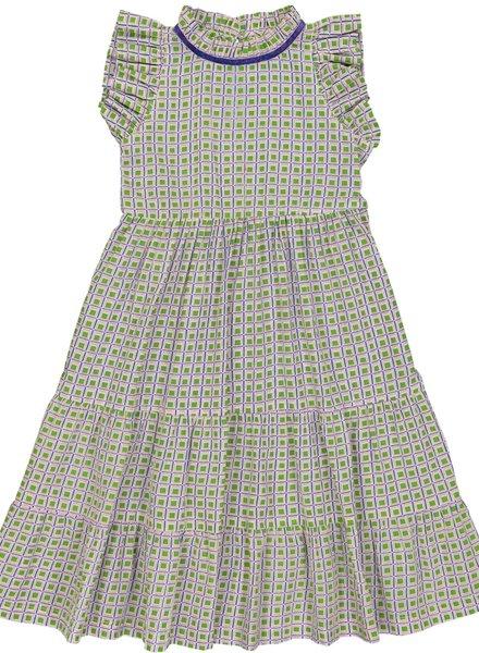 Hello Simone Fanny Dress Jacno Green