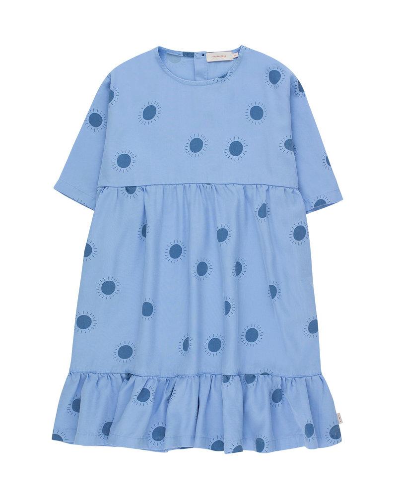 Tiny Cottons Tinycottons jurk Sun Belled Dress cerulean blue / summer navy