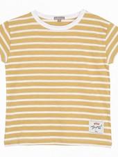 Emile et Ida T-shirt Jaune Tee shirt Q145