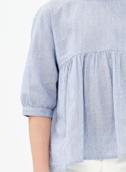 BY-BAR Shirt  Renee  blue