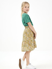 BY-BAR Jupe Lien paisley skirt straw