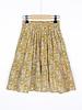 BY-BAR rok Lien paisley skirt straw