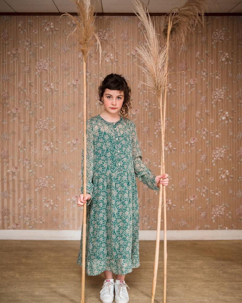 BY-BAR jurk Do garden dress evergreen