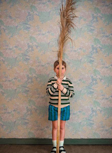 Bobo Choses Bobo Choses broek Striped Woven Shorts color 468