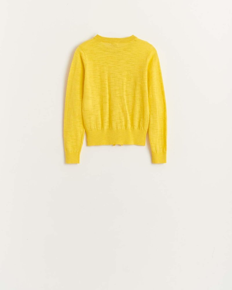 Bellerose cardigan Gympia Yellow K1019U