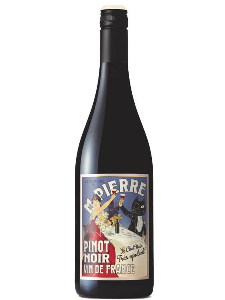 M. Pierre Le Chat Noir Pinot Noir 2015