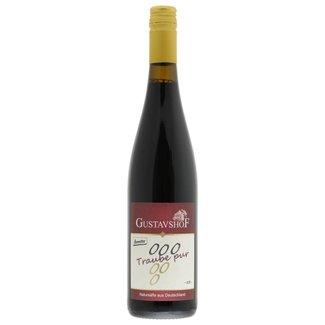 Gustavshof Traube Pur - Bio grape juice red