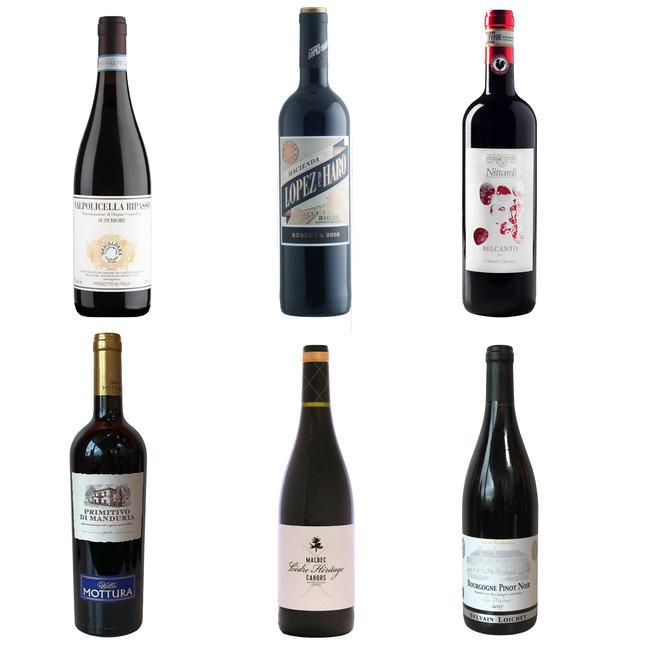 Beste Weinkiste Rot
