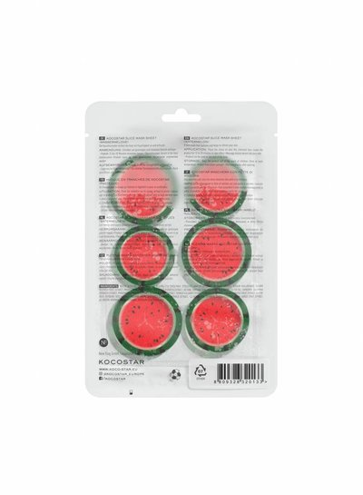Kocostar Slice Mask Watermelon – die Wassermelonenmaske