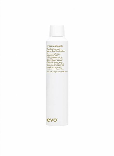 evo® flexible hairspray