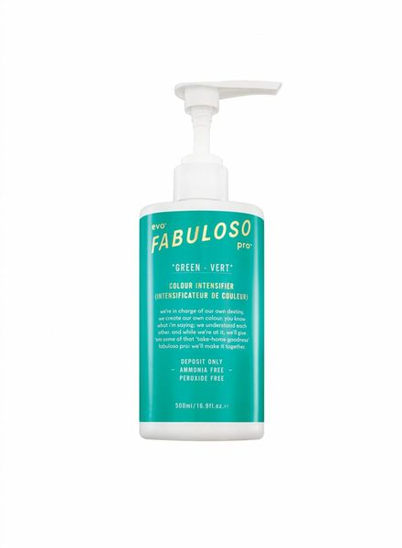 Evo evo® green colour intensifier