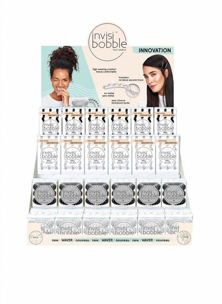invisibobble® WAVER 36er Display Set