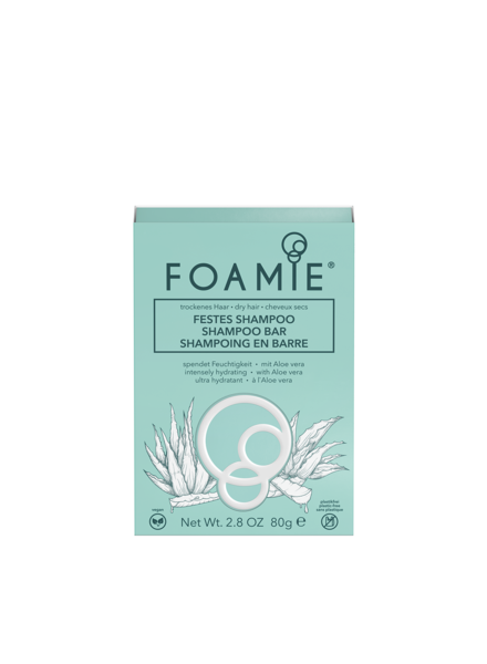 Foamie Festes Shampoo  Aloe You Vera Much