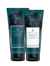 OPUS MAGNUM salt scrub + conditioner set