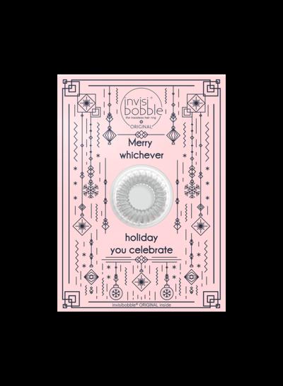 invisibobble® Wishlist Greeting Card Merry Holidays