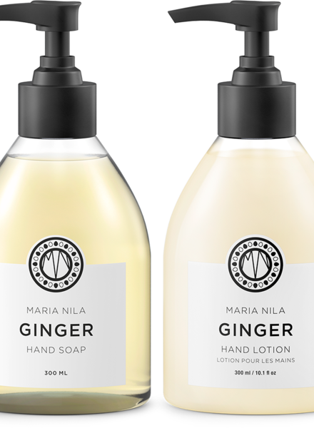 Maria Nila Set: Hand Soap + Lotion Ginger