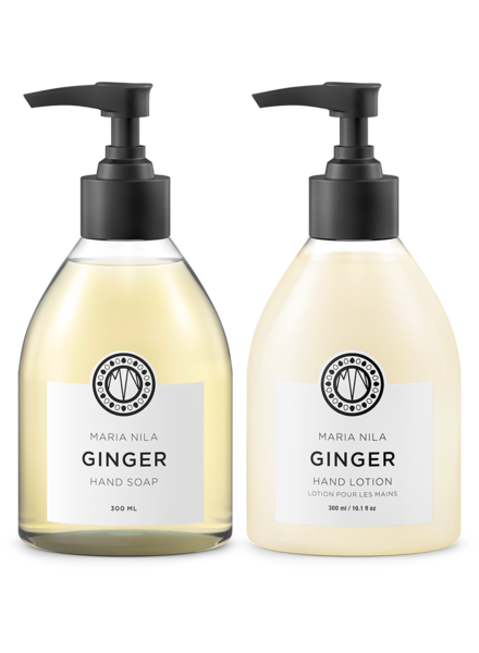 Maria Nila Set: Hand Soap + Lotion Ginger
