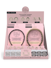 invisibobble® HAIRHALO & ORIGINAL Mixed Display (18)