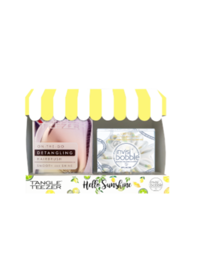 invisibobble® x Tangle Teezer Set – Hello Sunshine