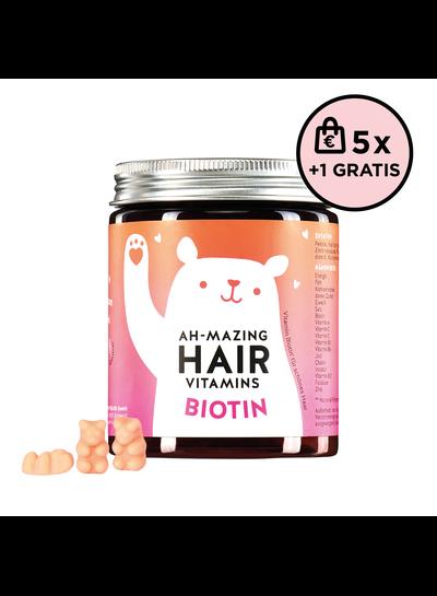 Bears With Benefits Ah-mazing Hair Vitamin Biotin  5+1 Set