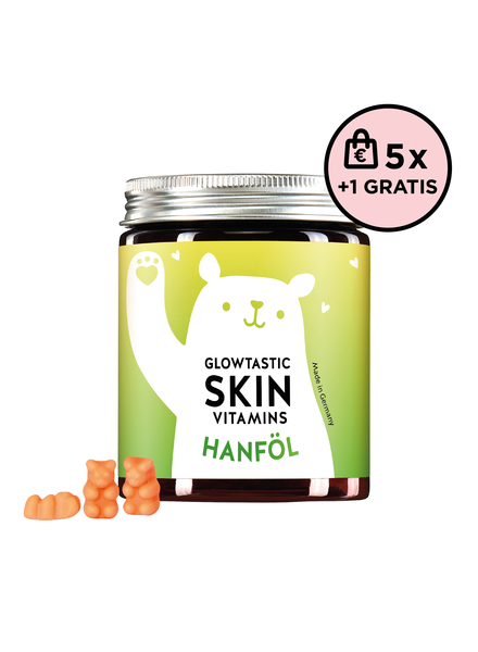 Bears With Benefits Glowtastic Skin Vitamins Hanfsamenöl 5+1 Set