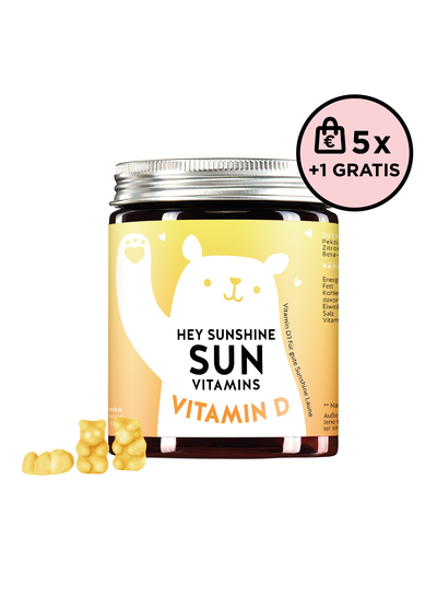 Bears With Benefits Hey Sunshine Sun Vitamins Vitamin D 5+1 Set